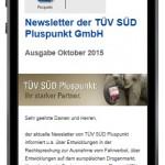 Newsletter mobil